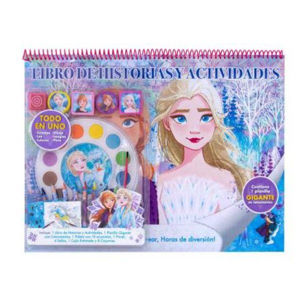 Oferta de Libro de Actividades Best Trading Frozen por $305.87