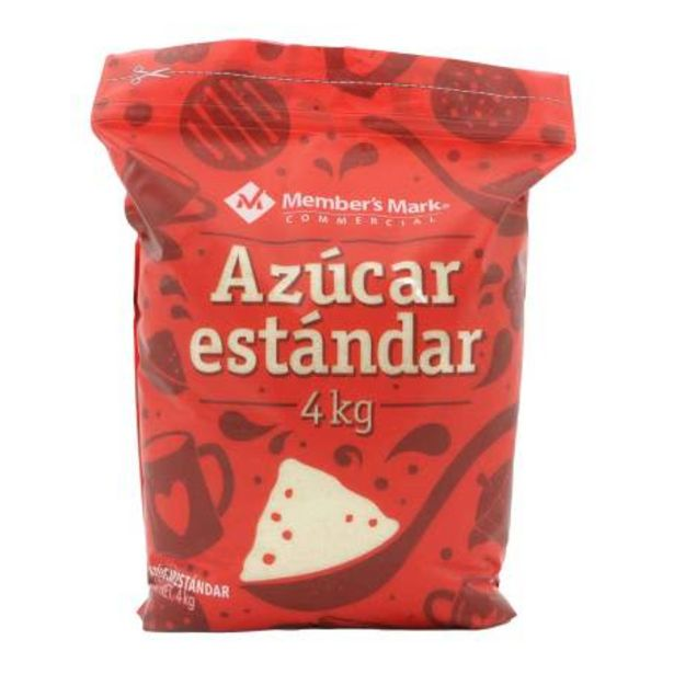 Oferta de Azúcar Estándar Member's Mark 4 kg por $107.41