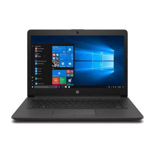 Oferta de Laptop HP 240 Core i3 /4 GB RAM/500 GB Negro por $12274.98