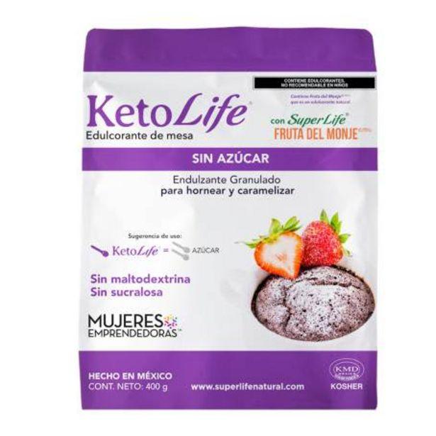 Oferta de Endulzante Super Life Keto Life 400 g por $170.84