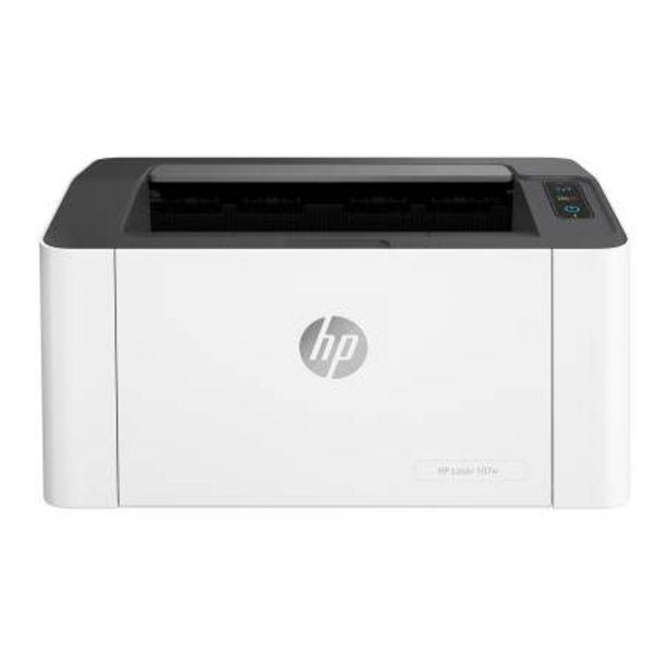 Oferta de Impresora Láser HP Mod. 107w 4ZB78A por $2556.47