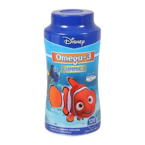 Oferta de Omega-3 Nemo Gummies Sabores Naturales 300 g por $367.26