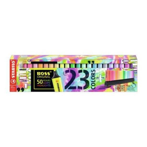 Oferta de Marcatextos Stabilo Boss Original Pastel 23 pzas por $612.76