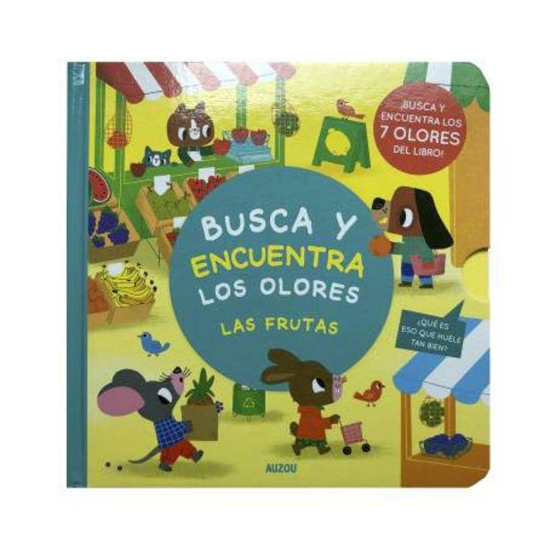 Oferta de Libro de Actividades VR Editoras Busca y Encuentra Olores por $234.26