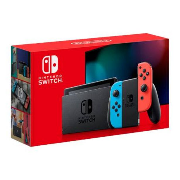 Oferta de Consola Nintendo Switch Neon 1.1 por $8489.87