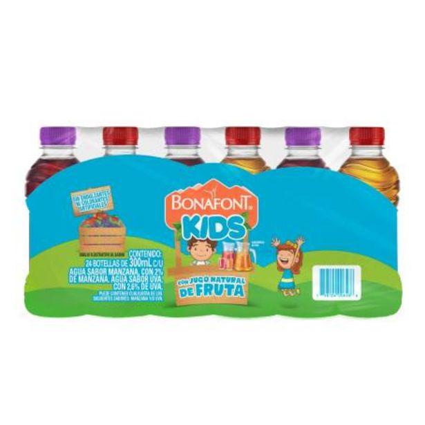 Oferta de Agua Bonafont Kids Surtidos 24 pzas de 300ml por $99.23