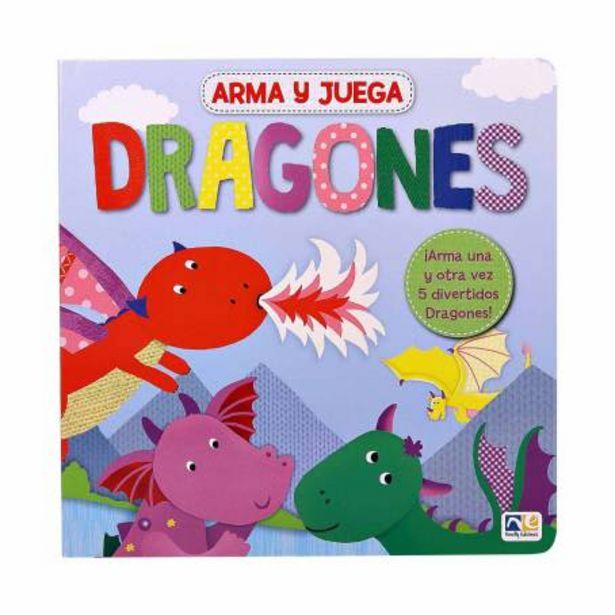 Oferta de Libro de Actividades Arma y Juega Novelty Dragones por $172.88
