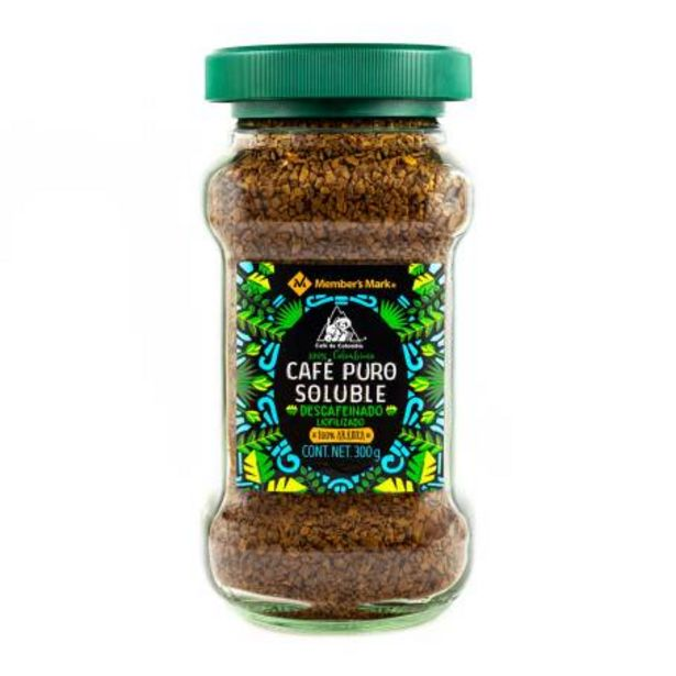 Oferta de Café Soluble Member's Mark Descafeinado 300 g por $131.96