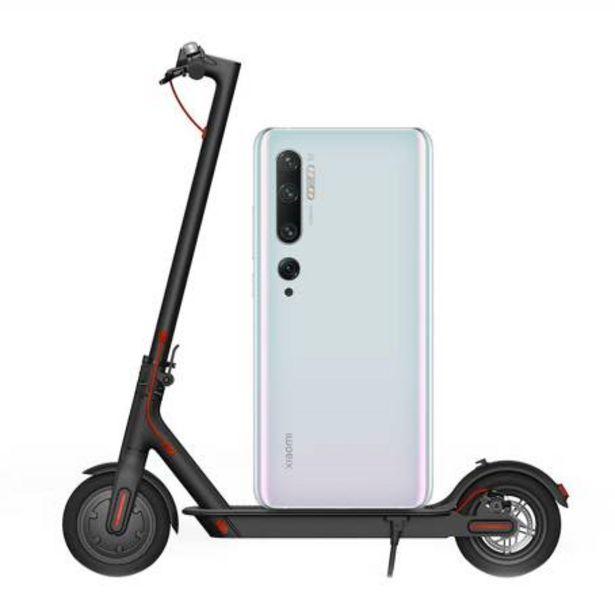 Oferta de Smartphone Xiaomi Note 10 Pro Blanco Desbloqueado con Mi Scooter Eléctrico por $25573.96