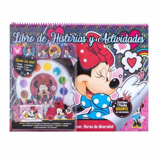 Oferta de Libro de Actividades Best Trading Minnie Mouse por $305.87