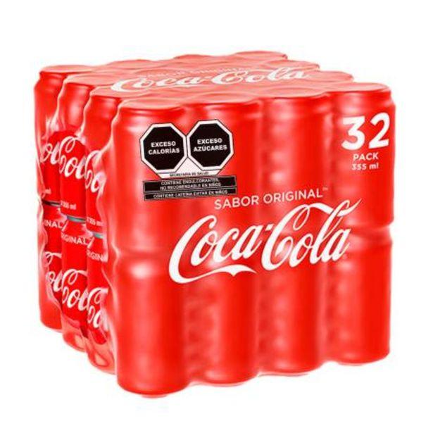 Oferta de Refresco Coca-Cola 32 pzas de 355 ml por $380.54