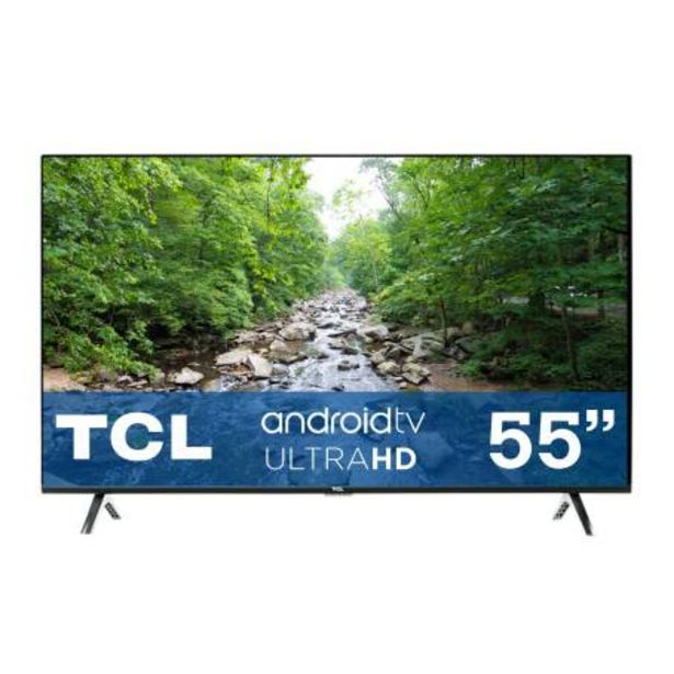 Oferta de Pantalla TCL 55 Pulgadas LED 4K Android TV por $8182.98