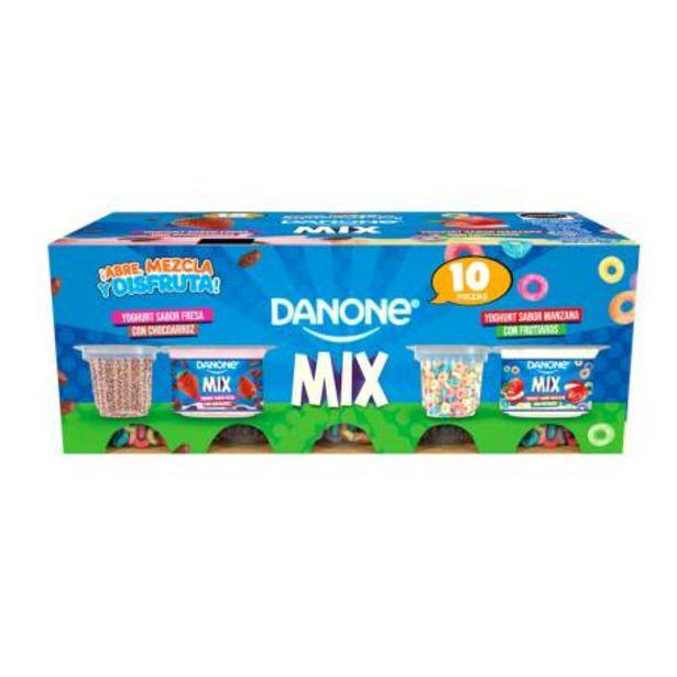 Oferta de Yogurt con Cereal Danone 10 piezas por $76.73