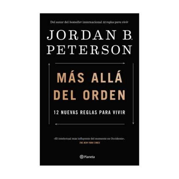 Oferta de Libro Más Allá del Orden Planeta Jordan B. Peterson por $407.15