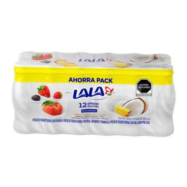 Oferta de Yoghurt Lala Surtido 12 piezas de 220 gr c/u por $81.84