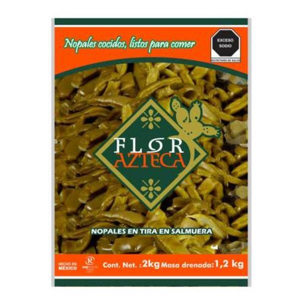 Oferta de Nopal en Salmuera Flor Azteca 2 Kg por $43.47