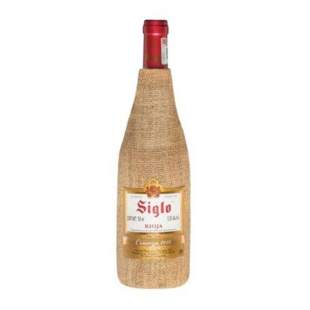 Oferta de Vino Tinto Siglo Crianza Rioja 750 ml por $203.54