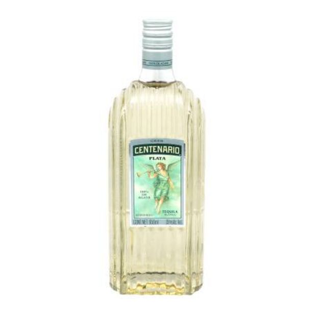 Oferta de Tequila Centenario Plata 950 ml por $305.85
