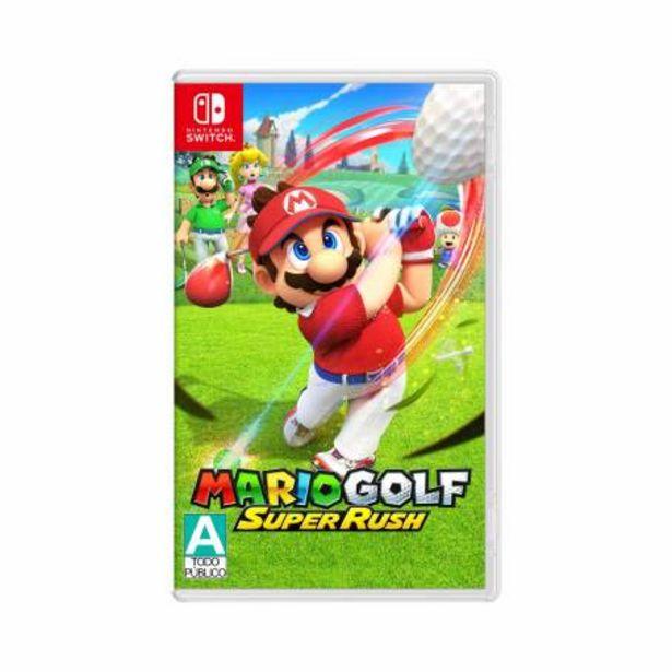 Oferta de Videojuego Mario Golf Nintendo Switch Super Rush por $1124.28