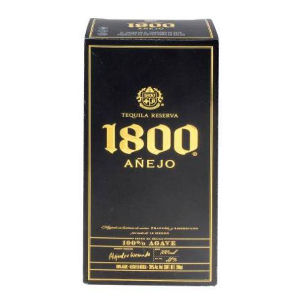Oferta de Tequila 1800 Añejo 700 ml por $547.3