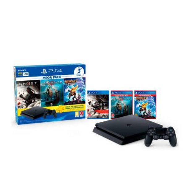 Oferta de Consola PlayStation 4 Megapack 18 + Control + 3 Videojuegos por $6955.38
