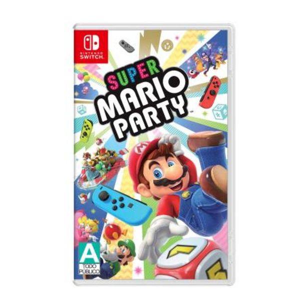 Oferta de Super Mario Party Nintendo Switch por $1124.28