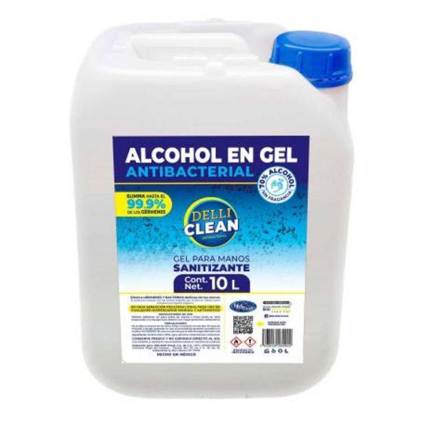 Oferta de Gel Antibacterial Delli Clean 10 l por $715.05