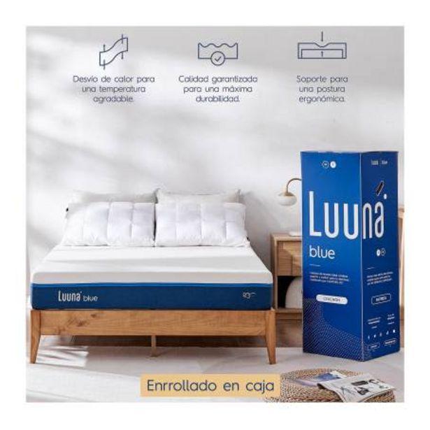 Oferta de Colchón Luuna Blue Matrimonial por $7159.97