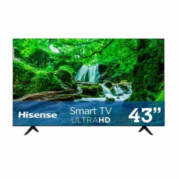Oferta de Pantalla Hisense 43 Pulgadas UHD 4K Smart TV por $6136.98
