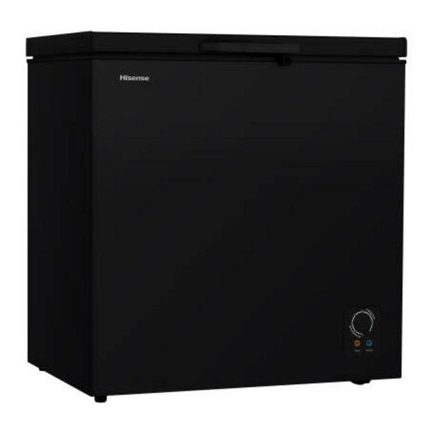 Oferta de Congelador Hisense Horizontal 7 Pies Cúbicos Negro por $7159.97
