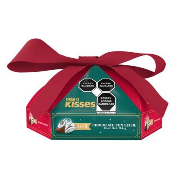 Oferta de Chocolates con Leche Hershey's Kisses Secret Jumbo 174 g por $101.26