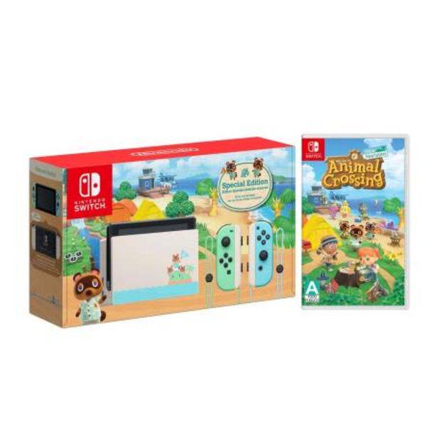 Oferta de Consola Nintendo Switch 1.1 + Animal Crossing New Horizon por $8199