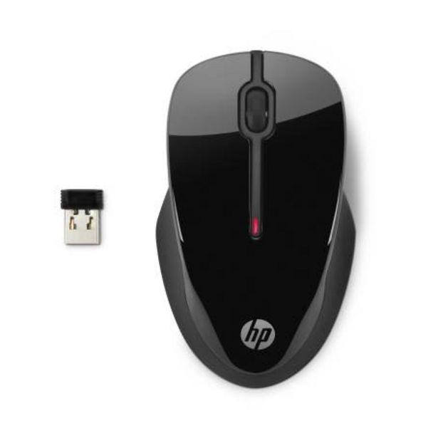 Oferta de Mouse Inalámbrico HP 250 Negro + McAfee por $408.18