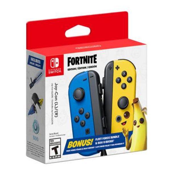 Oferta de Control Joy-Con Nintendo Switch (L)/(R) Fortnite Fleet Force por $2147.28