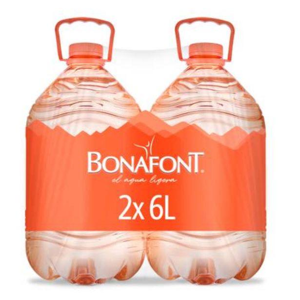 Oferta de Agua Bonafont 2 Piezas de 6 Lt por $46.03