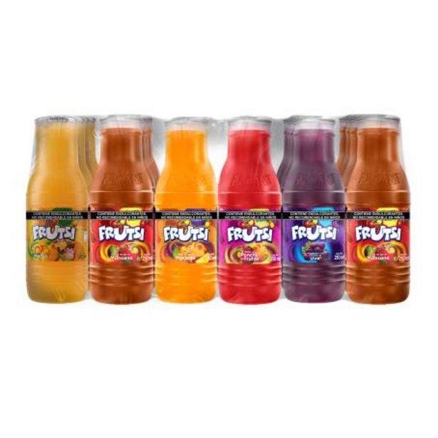 Oferta de Bebida de Frutas Frutsi Sabores Surtidos 24 pzas de 250 ml por $85.93