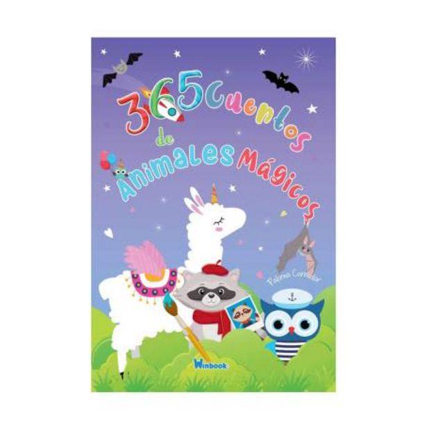 Oferta de Libro 365 Cuentos De Animales Mágicos WinBook por $305.87