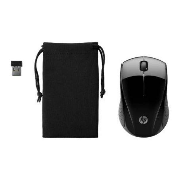 Oferta de Mouse Inalámbrico HP 220 Negro con Estuche + McAfee por $408.18
