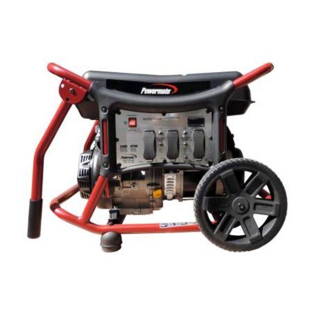 Oferta de Generador Portátil Powermate 5400 W 420 CC por $14832.46