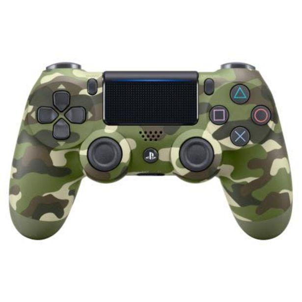 Oferta de Control Inalámbrico PlayStation 4 Verde Camuflaje por $1942.66