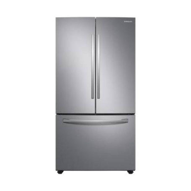 Oferta de Refrigerador Samsung French Door 28 Pies Cúbicos Silver por $24960.16