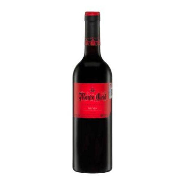 Oferta de Vino Tinto Monte Real Tempranillo Bodegas Riojanas Rioja 750 ml por $167.92