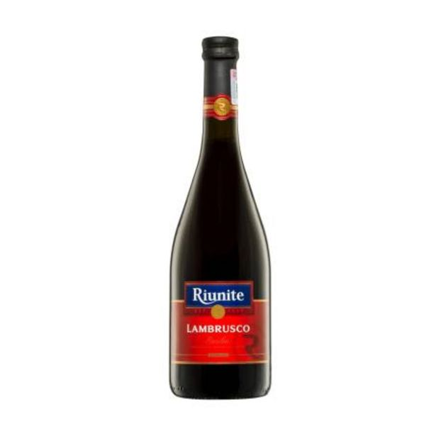 Oferta de Vino Tinto Riunite Lambrusco Emilia 750 ml por $136.05