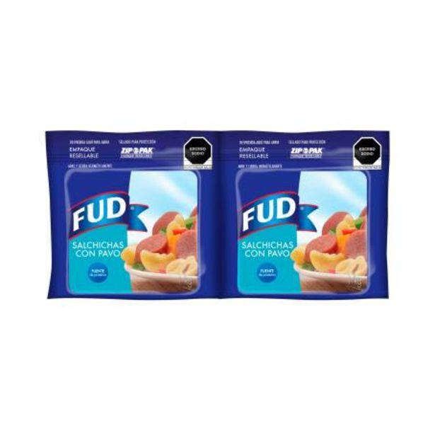 Oferta de Salchichas de Pavo FUD 2 Kg por $142.2