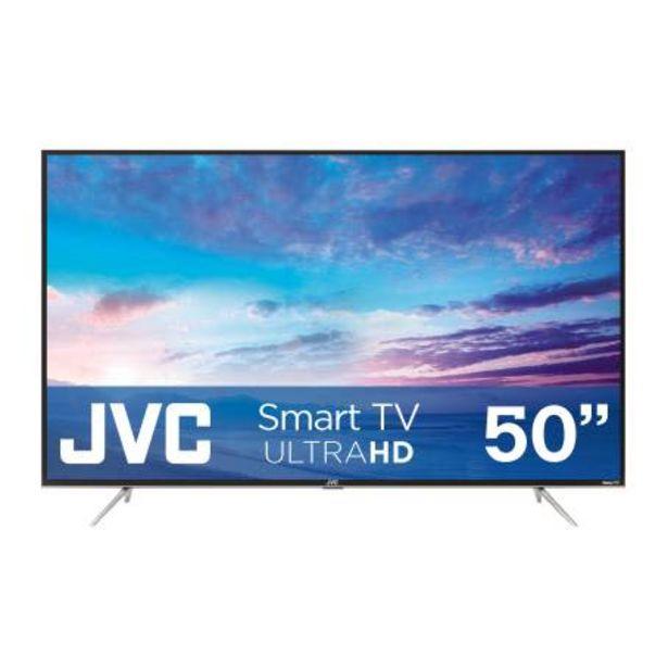 Oferta de Pantalla JVC 50 Pulgadas UHD 4K Smart Roku por $8489.87
