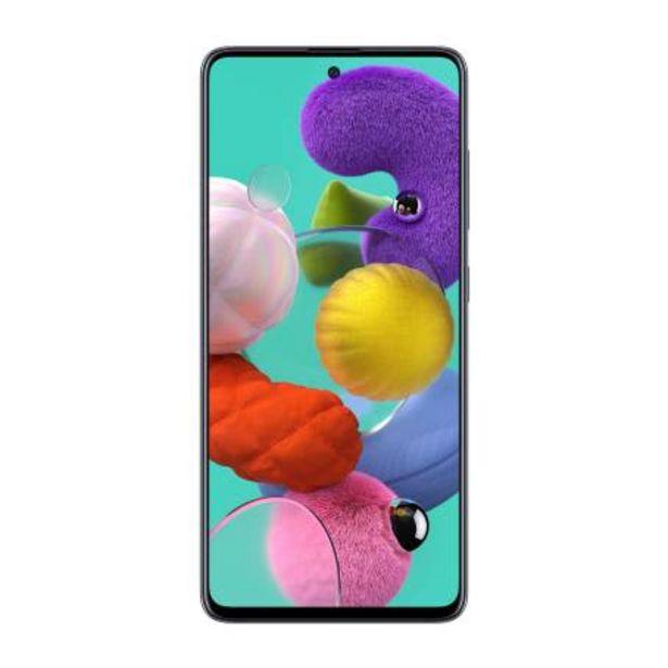 Oferta de Smartphone Samsung A51 Negro por $6136.98