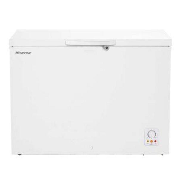 Oferta de Congelador Hisense 9 Pies Blanco por $8694.48