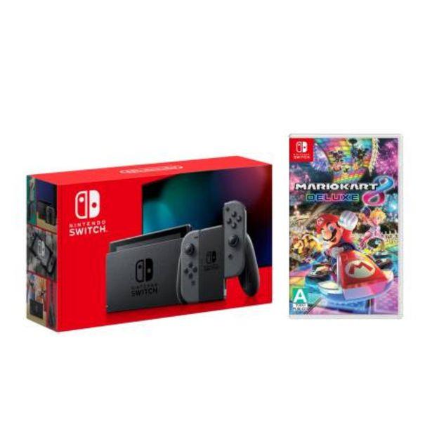 Oferta de Consola Nintendo Switch Gris 1.1 + Mario Kart 8 Deluxe por $7364.58