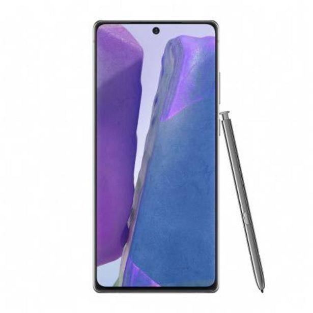 Oferta de Smartphone Samsung Note 20 Gris por $19435.98