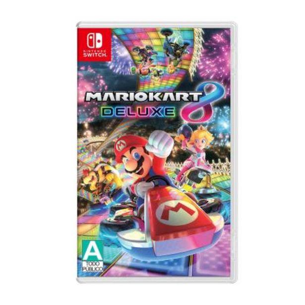 Oferta de Mario Kart 8 Deluxe Nintendo Switch por $1124.28
